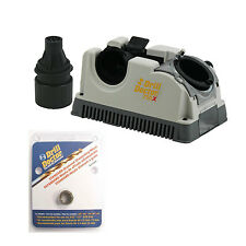 Drill Doctor DD750X Drill Bit Sharpener with Case, and DA31320GF Diamond Wheel