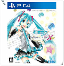 PS4 Hatsune Miku -Project DIVA- X HD ENG 初音未來 中文版 Sony SEGA Music Games