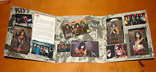 KISS RARE PHONE CARDS SET IN BOOKLET 1996