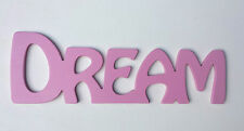 "Wooden Word Letters Pink ""DREAM"" Wall Door Decoration Art/Sign"