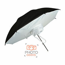 Reflector Brolly Box 78cm Umbrella Soft Studio Flash Strobe Light Diffuser Photo