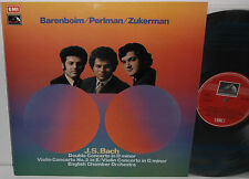 ASD 2783 Bach Double Concerto Perlman Zukerman English Chamber Orch Barenboim