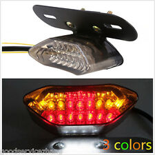 12V 20LED Universal Motorcycle Light Brake Tail Turn Signal License Plate Light