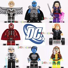 8pcs Apocalypse Magneto Angel Rogue Xmen Professorx Fits X-Men Lego Minifigures