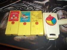 Vintage Fisher Price Movie Viewer With 3 Cartridges