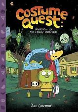 Costume Quest: Invasion of the Candy Snatchers-ExLibrary