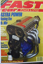 VAUXHALL 16v motore tuning Guide & Astra GTE 8v OPEL & Red Top c20xe RACE RALLY