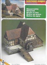 Schreiber Bogen Modellbau WATERMILL Paper / Cardboard Model Kit SEALED