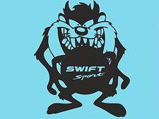 Taz Suzuki Swift Sport Window Sticker Car Sticker Rear Bumper Sticker Side T52