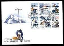 Schweden H-Blatt 168 FDC Schwedische Polarforschung