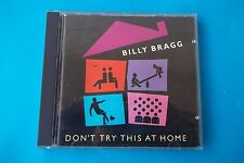 """BILLY BRAGG """" DON'T TRY THIS AT HOME """" CD ELECTRA 1991 NUOVO"""