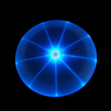 LED Light Up Flying Disk Frisbee Outdoor Sports Toys Night Fun Beach Camping
