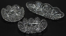 ABP Cut Glass Bowl and Tray Collection