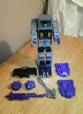 MENASOR MOTORMASTER WITH ACCESSORIES TRANSFORMERS G1 1986 VINTAGE ORIGINAL