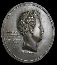Médaillon tué par Pierre-Napoléon Bonaparte Yvan Salmon dit Victor Noir medal