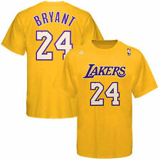 Los Angeles Lakers NBA Basketball Adidas # 24 Kobe Bryant T-Shirt XL X-Large