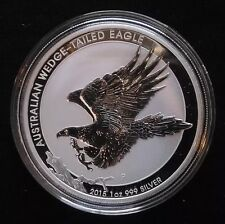 2015 Australian 1 oz Silver Wedge Tailed Eagle BU from original Perth mint roll