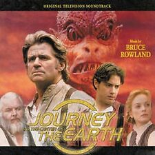 Score Soundtrack JOURNEY TO THE CENTER OF THE EARTH by BRUCE ROWLAND Ex cond