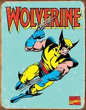 "Wolverine Distressed Retro Vintage Tin Sign 8"" x 12"" Art Poster Collectible"