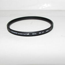 Promaster Digital Multi-Coated UV Protection 62mm Lens Filter Made in Japan