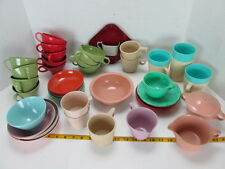 Huge Lot of Plastic Dishes Cups Bowls Plates Retro Picnics Camping Shop Use S