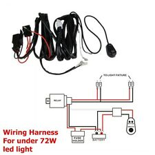 Wiring Harness Kit 40A 12V Switch Relay Harness For LED Work Light Bar 18W - 72W