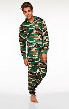 CAMO JUMPSUIT (ADULT) ONE SIZE FITS MOST - ORDER BY 11AM WEDNESDAY 21ST DEC FOR