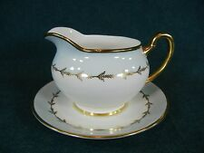Royal Grafton Catherine Pattern K8349 Gravy Boat with Separate Underplate