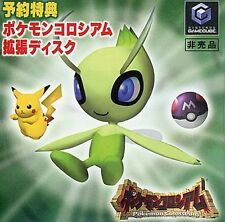 USED GC Pokemon Colosseum Celebi Bonus Disc JAPAN Nintendo GameCube Japanese