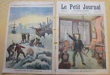 Le petit journal 1893 160 tetes de turc de rochefort ripple au pole nord
