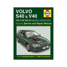 Volvo S40 V40 1.6 1.8 1.9 2.0 Petrol 1996-04 (N to 04 Reg) Haynes Manual