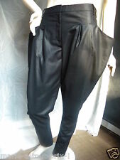DESIGNERS REMIX COLLECTION BY CHARLOTTE ESKILDSEN PANTALON NOIR ORIGINAL 34 NEUF