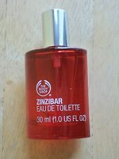 BODY SHOP ZINZIBAR EAU DE TOILETTE/EDT SPRAY, 1.0 FL. OZ, RARE,DISCONTINUED, NEW