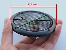 2pcs 3 INCH SUBWOOFER SPEAKER COVERS WAFFLE MESH GRILLS GRILLES