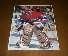MONTREAL CANADIENS PATRICK ROY 8x10 COLOR PRINT