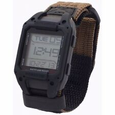 New Humvee Military Black Recon Digital Hiking Wrist Watch Nylon Band