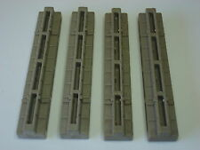 4x Junta Triple Playmobil Seccion Castillo Pieza Despiece Granja Muralla Muro