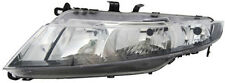 Clear chrome Left side headlight for HONDA Civic VIII Hatchback 06-08 TYC