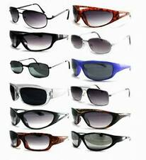 Lot of 12 Pieces - Unisex Deziner Alternative Assorted Adult Sunglasses
