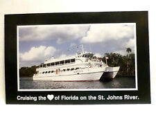 mv Romance . Cruise Ship Excursion Boat Cruising Florida on St. Johns River U053