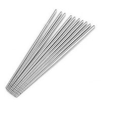 Stainless Steel Chopsticks Chinese Stylish Healthy Light weight  Metal Silver