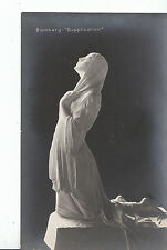 "Religion Postcard - Prayer - Blomberg - ""Supplication"" - Lady Kneeling   ZZ2436"