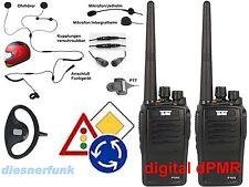 Digitaler FahrschulfunkTeam TeCom-IPDA32 dPMR -kpl. Set2 Motorrad zu Motor& PKW
