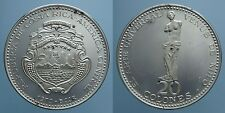 COSTA RICA 20 COLONES 1970 PROOF