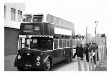 pt9867 - Doncaster Bus LFS 478 at Duke Street in 1954 , Yorkshire - photograph