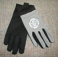 Men's POLO SPORT-RALPH LAUREN Black/ Reflective Running TOUCH Gloves (S-M)