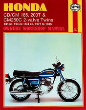 Haynes Manual 0572 - Honda CD185, CM185, CD200, CM200, CM250 workshop & service