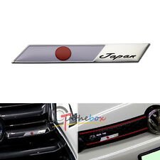 JDM Japanese Sun Flag Emblem Plate Badge For Car Front Grille Side Fender Trunk