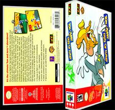 Tom and Jerry Fists of Furry - N64 Reproduction Art Case/Box No Game.