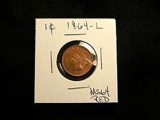 BEAUTIFUL RARE 1864 L Indian Head Cent Penny MS BU UNC ++++ RED BUY IT NOW OFFER